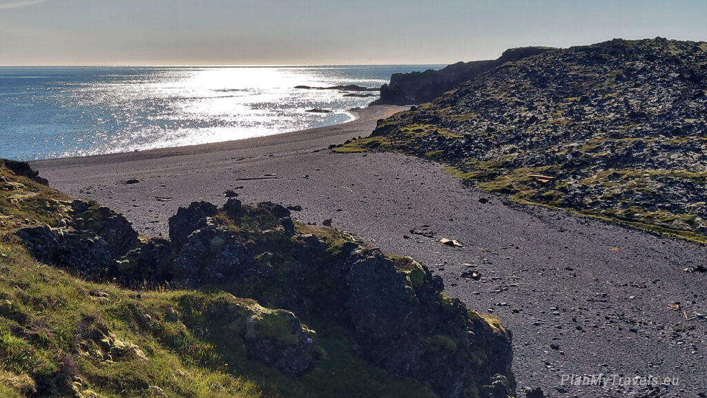 Islandia, Półwysep Snaefell, Djupalonssandur - Czarna Plaża