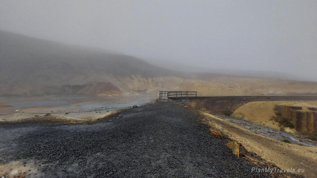 Islandia, pola geotermalne Krýsuvík