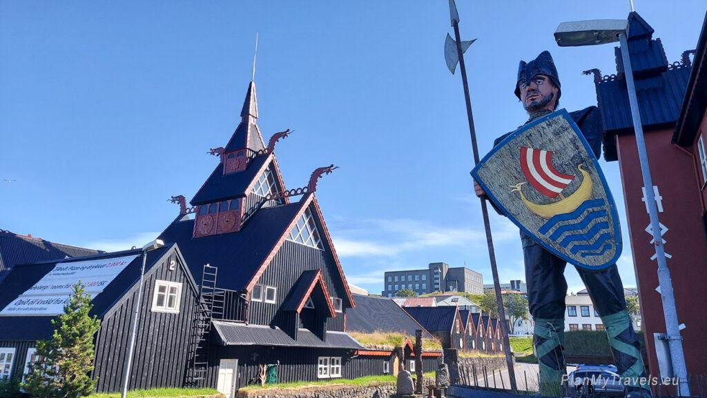 Islandia, Hafnarfjordur, hotel Viking