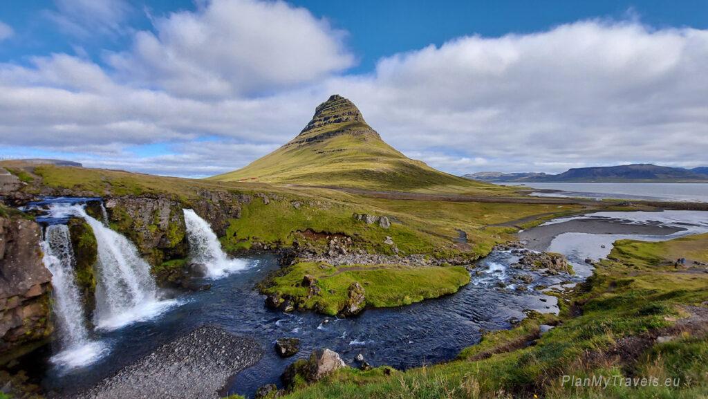 Islandia Zachodnia, Półwysep Snaefell, Kirkjufell, Islandia autorski plan podróży, PlanMyTravels.eu