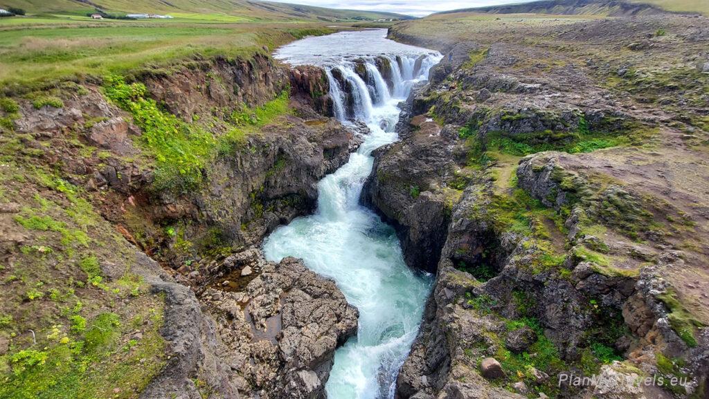 Islandia Północna, Kolugljufur Canyon