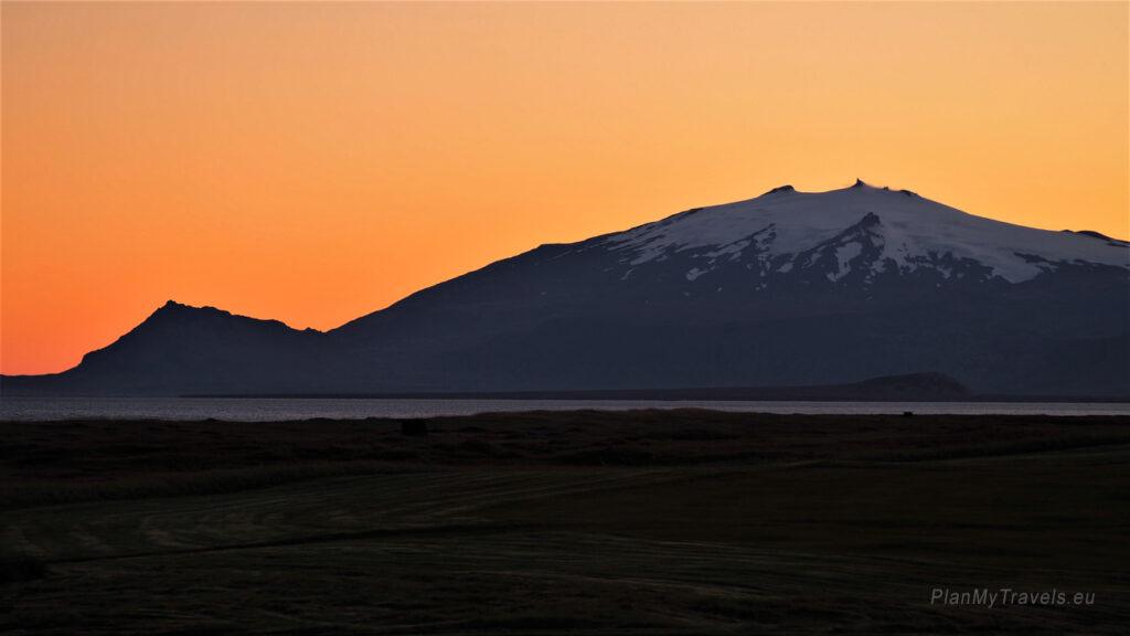 Islandia, Półwysep Snaefell, Langaholt