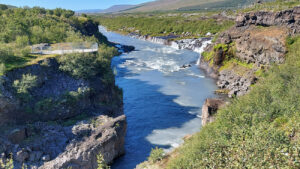 Iceland - tailor-made travel plan, PlanMyTravels.eu, Lava Waterfalls Hraunfossar