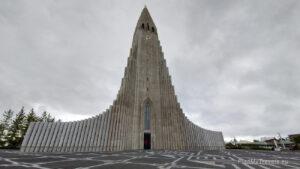Islandia autorski plan podróży, Reykjavik Hallgrimskirkja