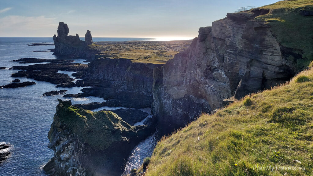 Islandia, Półwysep Snaefell, Svalpufa, Islandia autorski plan podróży, PlanMyTravels.eu