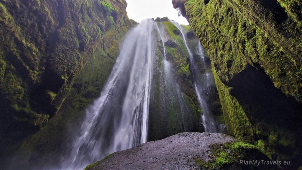 Islandia, wodospad Gljufurarfoss, Islandia autorski plan podróży