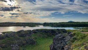 Islandia Północna, jezioro Myvatn