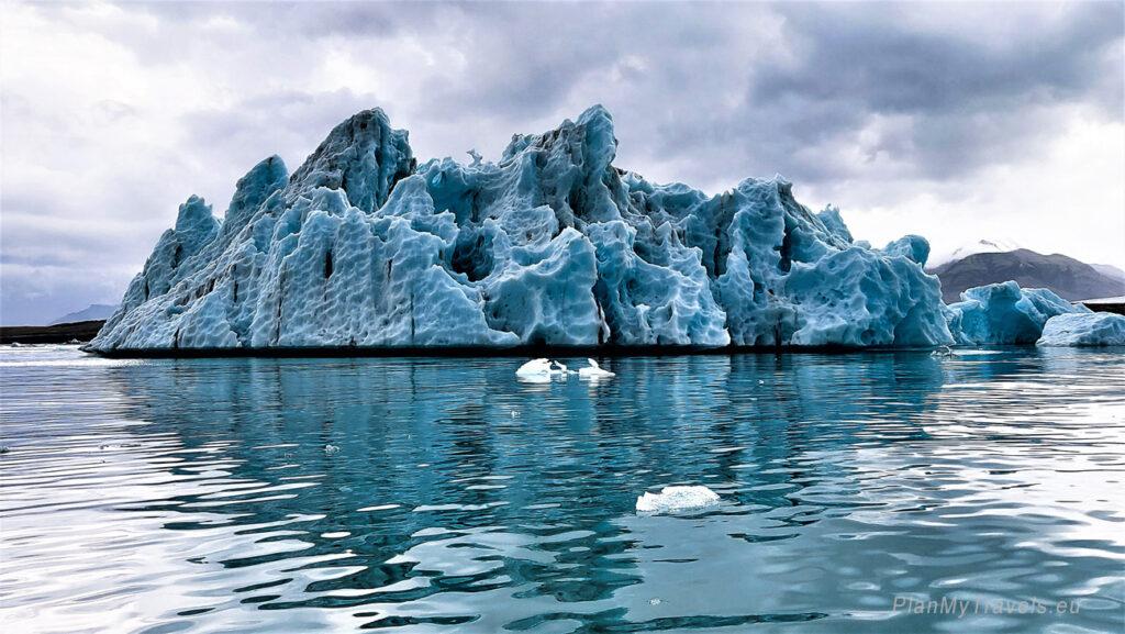 Islandia, lodowiec Jokulsarlon