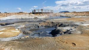 Islandia, obszar geotermalny Hverir, Islandia autorski plan podróży, PlanMyTravels.eu