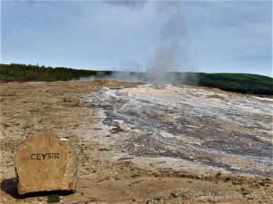 Islandia, pole geotermalne Laugarvatin