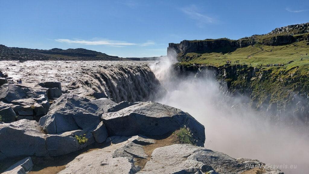 Islandia, wodospad Dettifoss