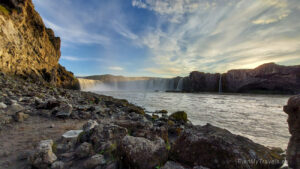 Islandia, wodospad Godafoss, Islandia autorski plan podróży, PlanMyTravels.eu