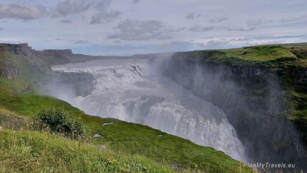 Islandia, wodospad Gulfos