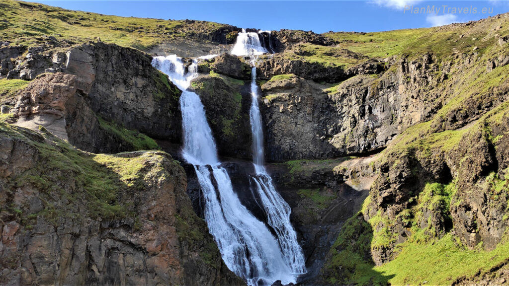 Islandia, wodospad Rjukandi, Islandia autorski plan podróży, PlanMyTravels.eu
