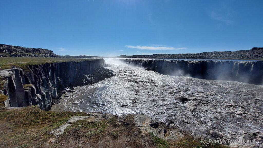 Islandia Północna, wodospad Selfoss, Islandia autorski plan podróży, PlanMyTravels.eu