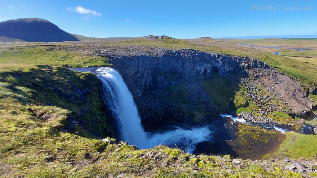 Iceland Snaefell Peninsula Svodufoss waterfall