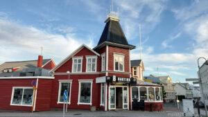 Islandia, Akureyri, skrzyżowanie ulic Hafnarstræti i Kaupvangsstræti