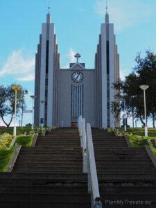 Islandia, Akureyri kościół Akureyrakirkja