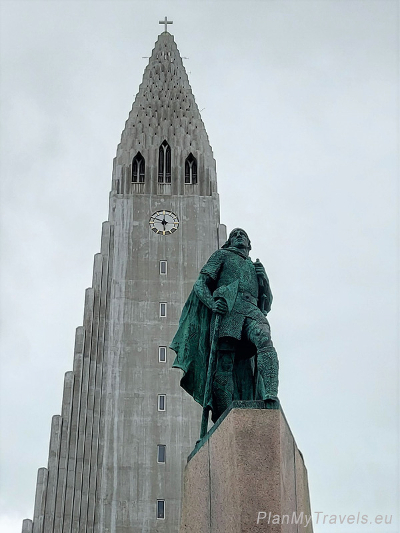Iceland, Reykjavik Hallgrimskirkja