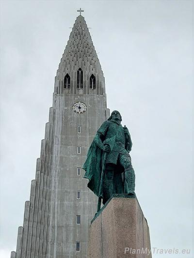 Islandia, Reykjavik, Reykjavik Hallgrímskirkja Hallgrímur Pétursson