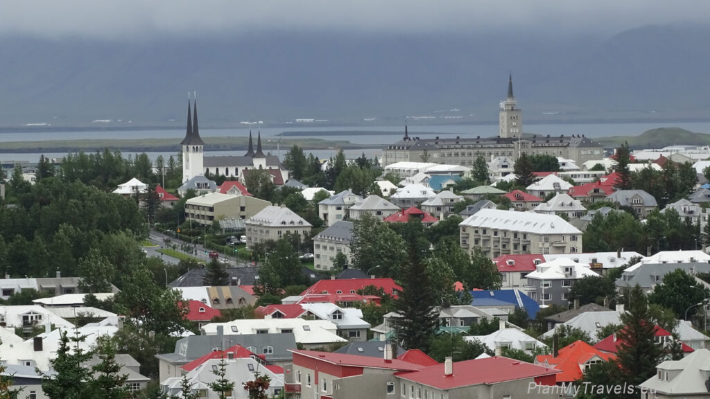 Islandia, Reykjavik widok na miasto