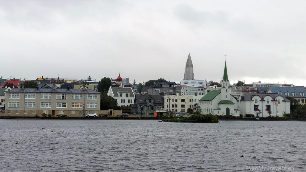Islandia, Islandia, Reykjavik stolica Islandii, jezioro Tjörnin