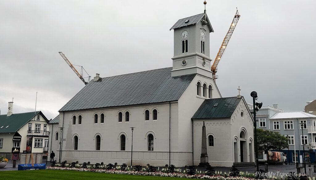 Iceland, Reykjavik, Lutheran Cathedral of Dómkirkjan