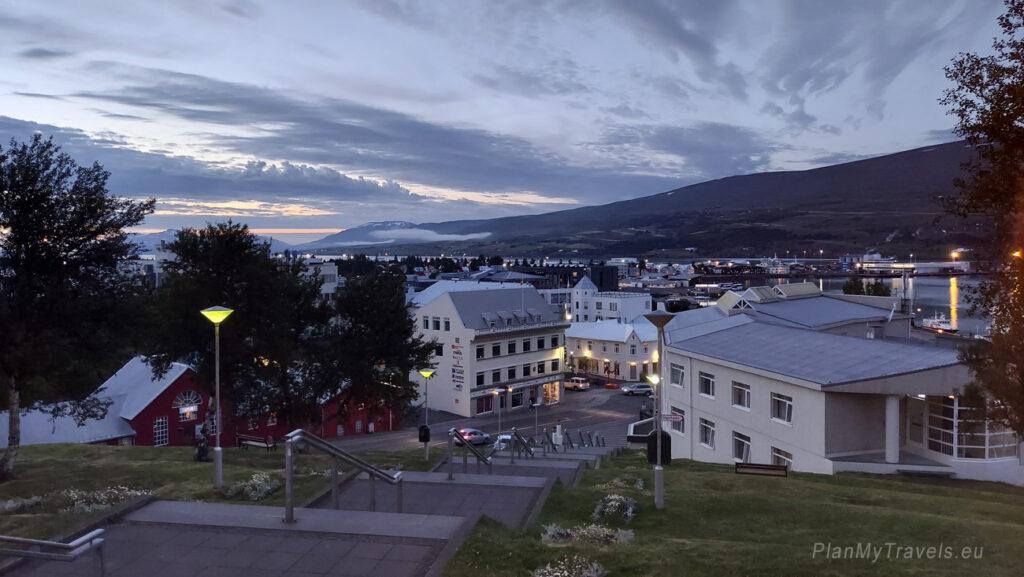 Akureyri Iceland, North Iceland