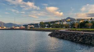 Iceland, Akureyri Fiord Eyjafjörðu