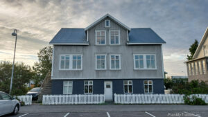 Iceland Akureyri, Historic Houses