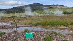 Islandia, obszar geotermalny, Geysir