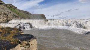 Islandia, Złoty Krąg, wodospad Gullfoss