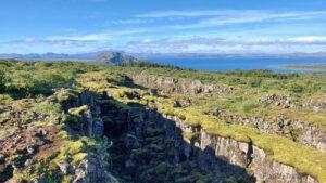 Islandia, droga 36 do Þingvellir