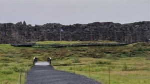 Iceland, Þingvellir National Park, parliament assembly