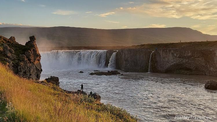 Diamentowy Krąg, Islandia Północna