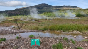 Iceland, Golden Circle, Geysir
