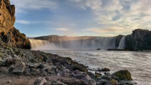 Diamantowy Krąg, Islandia Północna, wodospad Godafoss