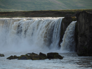 North Iceland, North Iceland, Godafoss Waterfall
