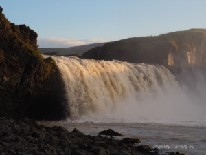 North Iceland, Godafoss Waterfall