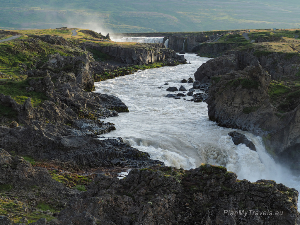 Diamond Circle, North Iceland, Godafoss Waterfall