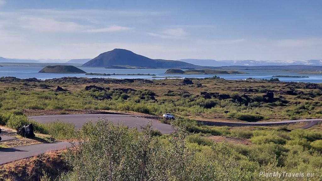 Diamentowy Krąg, Północna Islandia, Jezioro Myvatn