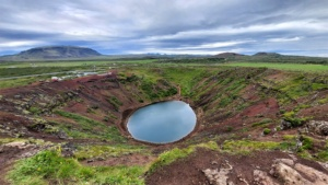 Golden Circle, Iceland, Kerið crater