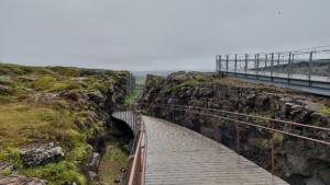 Iceland, National Park Þingvellir, Almannagjá