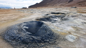 Diamentowy Krąg, Północna Islandia, Pole geotermalne Hverir