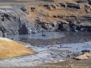 Islandia. Pole geotermalne Hverir