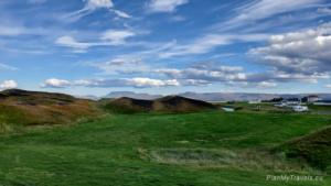 Islandia, jezioro Myvatn, pseudokratery