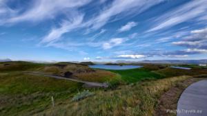 Islandia Północna, Myvatn, pseudokratery