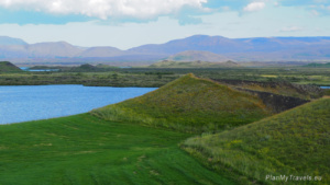 Diamantowy Krąg, Islandia Północna, Myvatn, pseudokratery