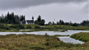 Iceland, National Park Þingvellir, Þingvallakirkja