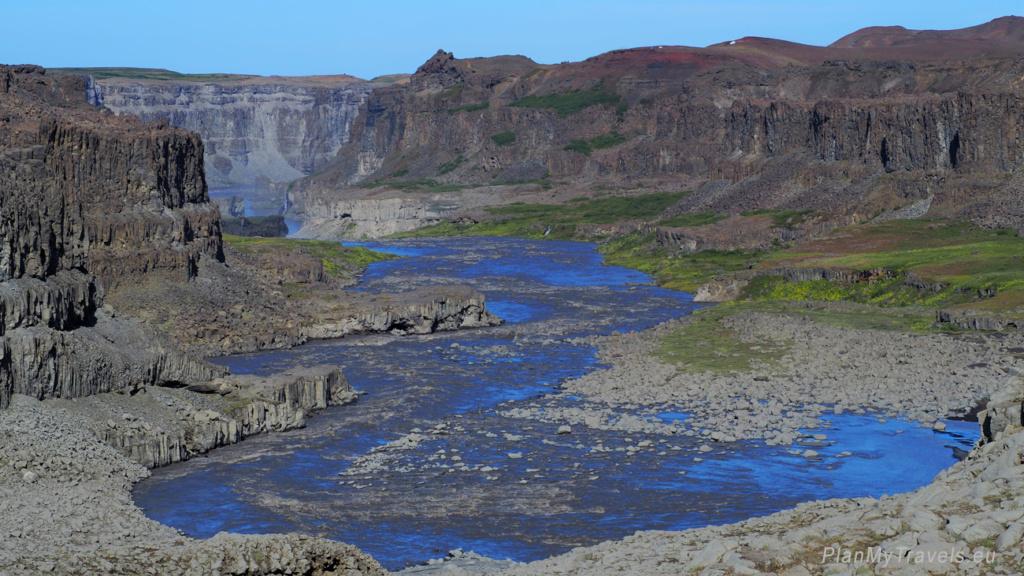 Diamentowy Krąg, Północna Islandia, Wąwóz Jökulsárgljufur